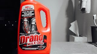 Drano Max Gel Review & Demo