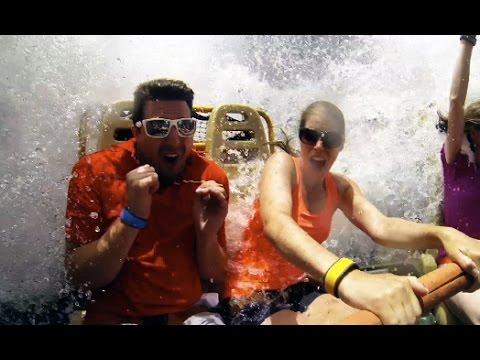 Kali River Rapids Full Ride GoPro (We get Soaked) - Disney's Animal Kingdom - WDW , Florida