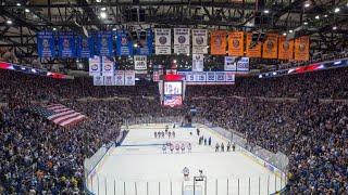 """Nassau Coliseum   """"Carry You Home""""   New York Islanders"""