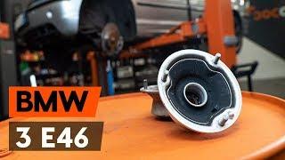 Montage Butée d'amortisseur avant et arrière BMW 3 SERIES : video manuel