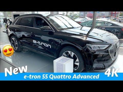 Audi E-tron 55 Quattro Advanced 2019 - Tampilan Penuh Pertama Dalam 4K