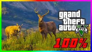 GTA 5 Wildlife Photography Challenge Guide 100% Complete - ALL 20 Animal Locations! (GTA V PS4)