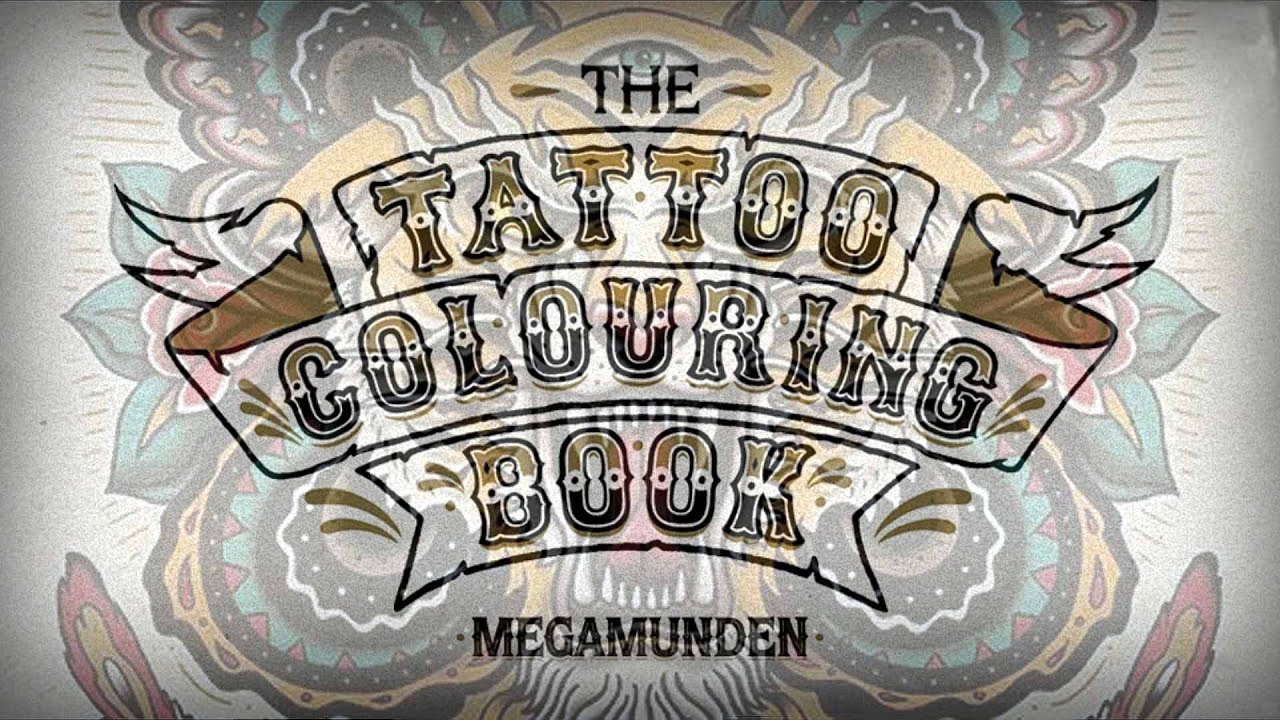 The coloring book tattoo - The Tattoo Coloring Book