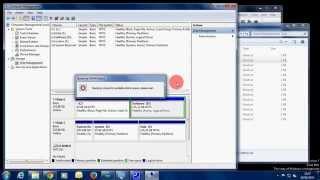 tutorial membuat partisi Hardisk tanpa software