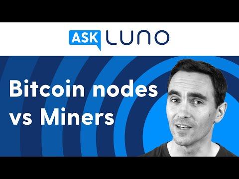 Is A Bitcoin Node The Same As A Bitcoin Miner? | Ask Luno