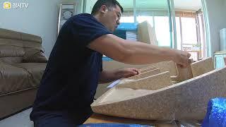 에어컨 실외기 커버 / 태풍에도 버텨낸  / 2가지 타…