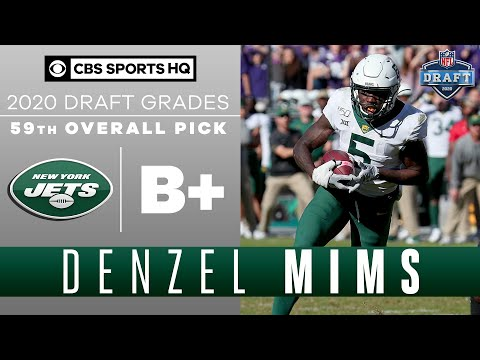 The New York Jets Select A WEAPON In Denzel Mims With The 59th Pick | 2020 NFL Draft