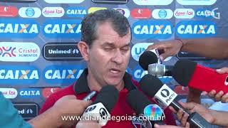 Cláudio Tencati após eliminação do Atlético no Goianão