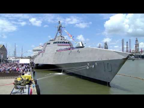 Commissioning Ceremony of USS Gabrielle Giffords LCS10