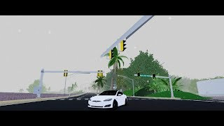 Roblox Ultimate Driving. What happens if you put gas in a tesla
