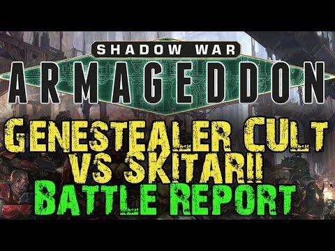 Shadow War : Armageddon Campaign Game 7 - Genestealer Cult vs Skitarii