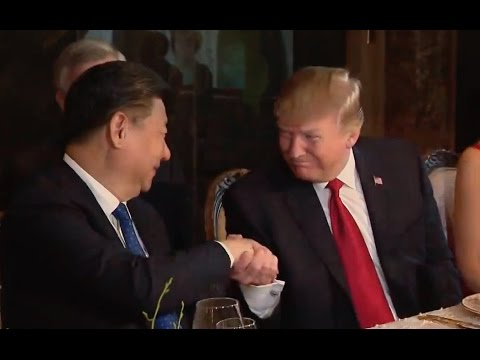 Trumps Have Dinner With President of China