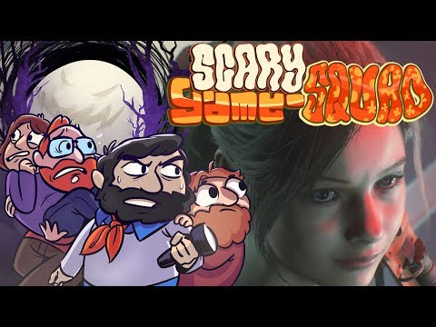 The End (Real Ending)   Resident Evil 2 Claire   Scary Game Squad Part 7