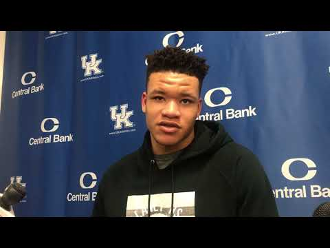 Kevin Knox post-Mississippi State victory