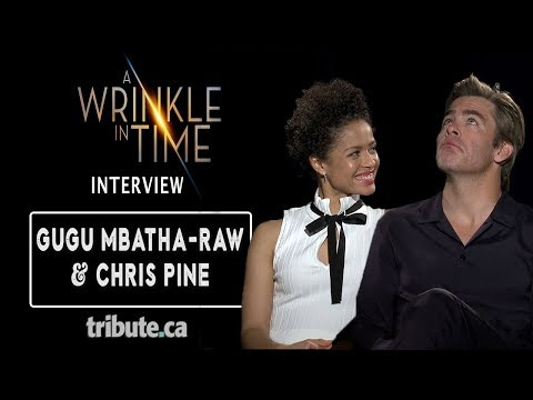 Gugu Mbatha-Raw & Chris Pine - A Wrinkle in Time Interview