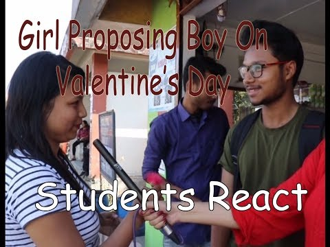 Spreading Love On Valentine's Day || Assam University || 2019 Most Viewed Video