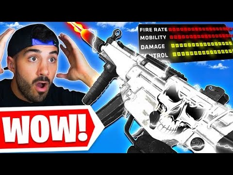Use This SMG Class NOW! 😯 *OVERPOWERED* (Cold War Warzone)
