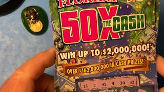 Florida Lottery Scratch Offs - 50x The Cash