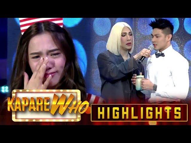 Jackque Gonzaga gets emotional   Its Showtime KapareWho