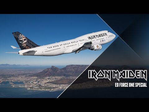 Iron Maiden - Ed Force One Special