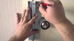 Dr Lock Locksmith Parramatta installing 3062 spinner blocker plate