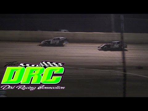 Moler Raceway Park   4.15.16   Matts Graphics UMP Modifieds   Heat 1