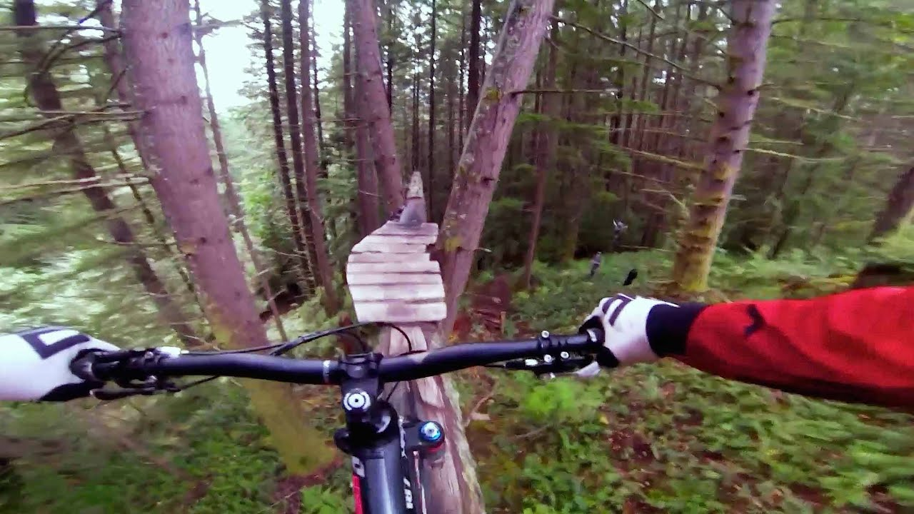 Technical Freeride MTB in Squamish - Through My Eyes w/ Aaron Chase