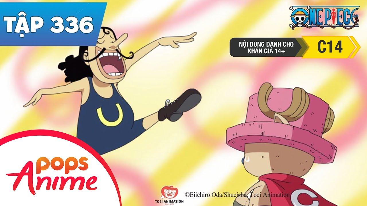 One Piece Tập 336 - Cứu Nguy! Chopper Man! Bảo Vệ Đài Truyền Hình Bờ Biển! - Đảo Hải Tặc