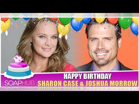 Joshua morrow and sharon case have something big in common!