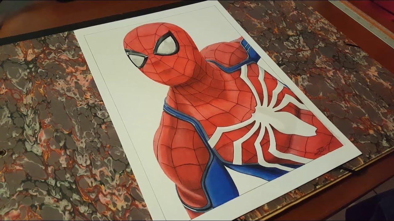 Dessiner spider man ps4 youtube - Dessiner spiderman ...