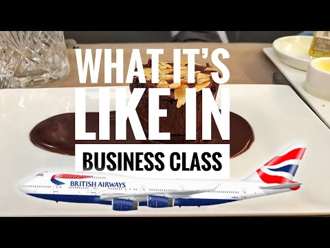What it's like in Business Class | British Airways | Travel Vlog | 7