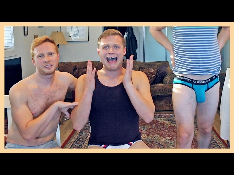 TRYING SEXY UNDERWEAR
