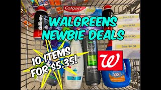 WALGREENS NEWBIE DEALS (4/18 - 4/25) | 10 ITEMS FOR 53¢ EACH! 😮
