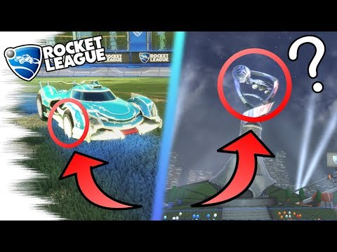 SECRET ALPHA WHEELS! - 5 Rocket League SECRETS, EASTER EGGS, & GLITCHES! (Overdrive Crates, Facts)