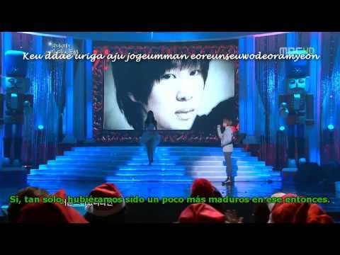 [HD] SNSD Jessica, SHINee Onew - [Genie] 06 One Year Later [Esp+Rom]