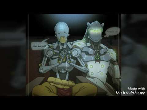Overwatch-Genji Shimada X Zenyatta (Genyatta) (Request)