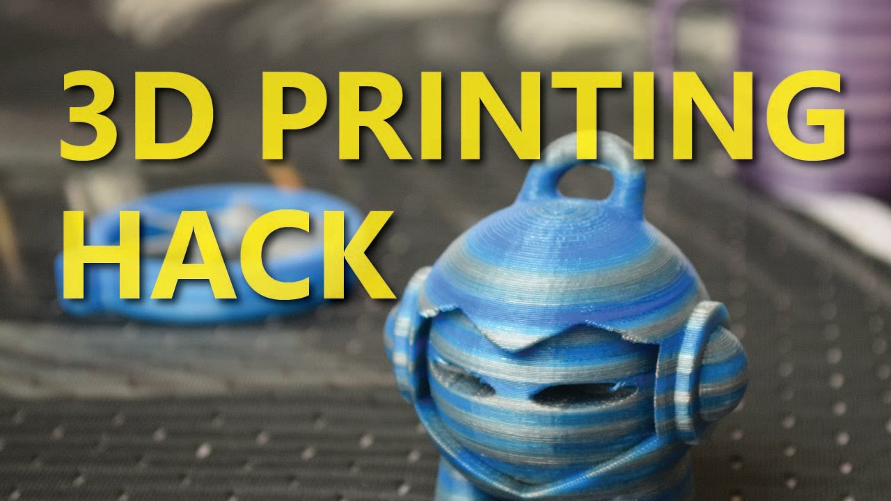 3D Print in ANY COLOUR with this Super Easy Hack - YouTube