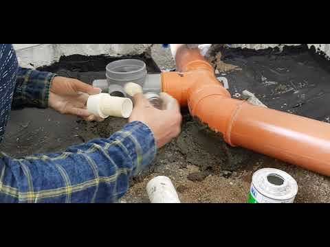 bathroom-drainage-line-installation।bathroom-plumbing-works।pipe-fitting-&-installation-at-bathroom