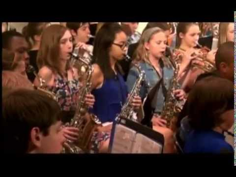 ANTHONY MIDDLE SCHOOL SPRING BAND CONCERT 2013 MINNEAPOLIS- SATBAN MUSIC TELEVISION