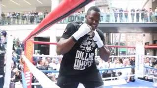 BODY-SNATCHER RAW! - DILLIAN WHYTE HAMMERS THE PADS WITH TRAINER MARK TIBSS / WHYTE v ALLEN