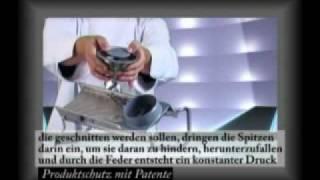 V-Mandoline Professionelle von De Buyer