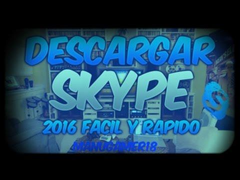 Descargar Skype Para Windows 7 Full Español 2016 32 y 64 Bits