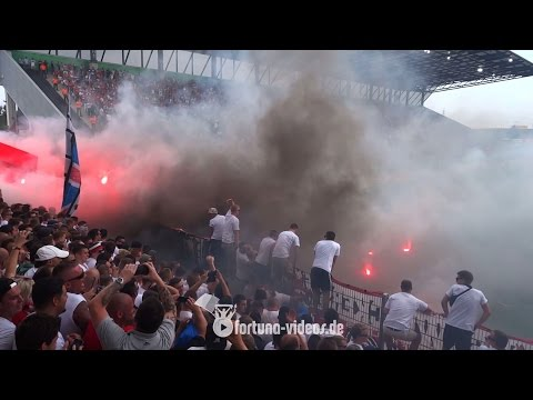 Pokal-Derby: Rot-weiß Essen vs. Fortuna Düsseldorf (09.08.2015 - DFB-Pokal 1:3 n.E.)