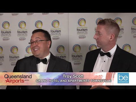 Grand Hotel Apartments Townsville - Standard Accommodation GOLD at 2017 Queensland Tourism Awards