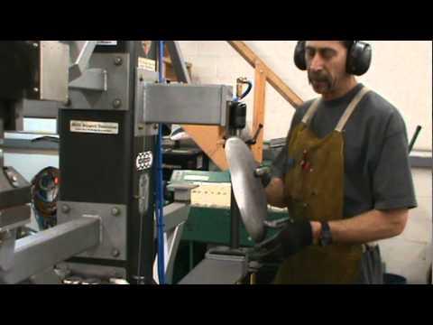 Steve Hogue Enterprises Planishing Hammer Shrinking Die Demo Part # 2