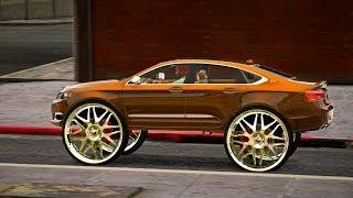 2016 Chevrolet Impala LTZ on 34 inch Forgiato Wheels - Grand Theft Auto V Mods - 4k