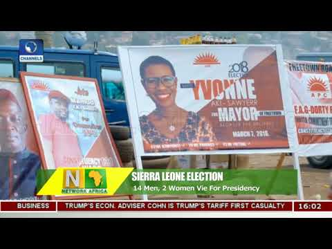 Sierra Leone Election: Voting Underway Across The Country |Network Africa|