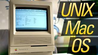 Gambar cover Apple A/UX: The First UNIX Mac OS!