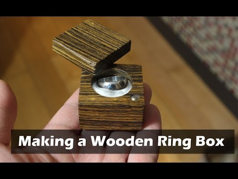 Make a Wooden Ring Box