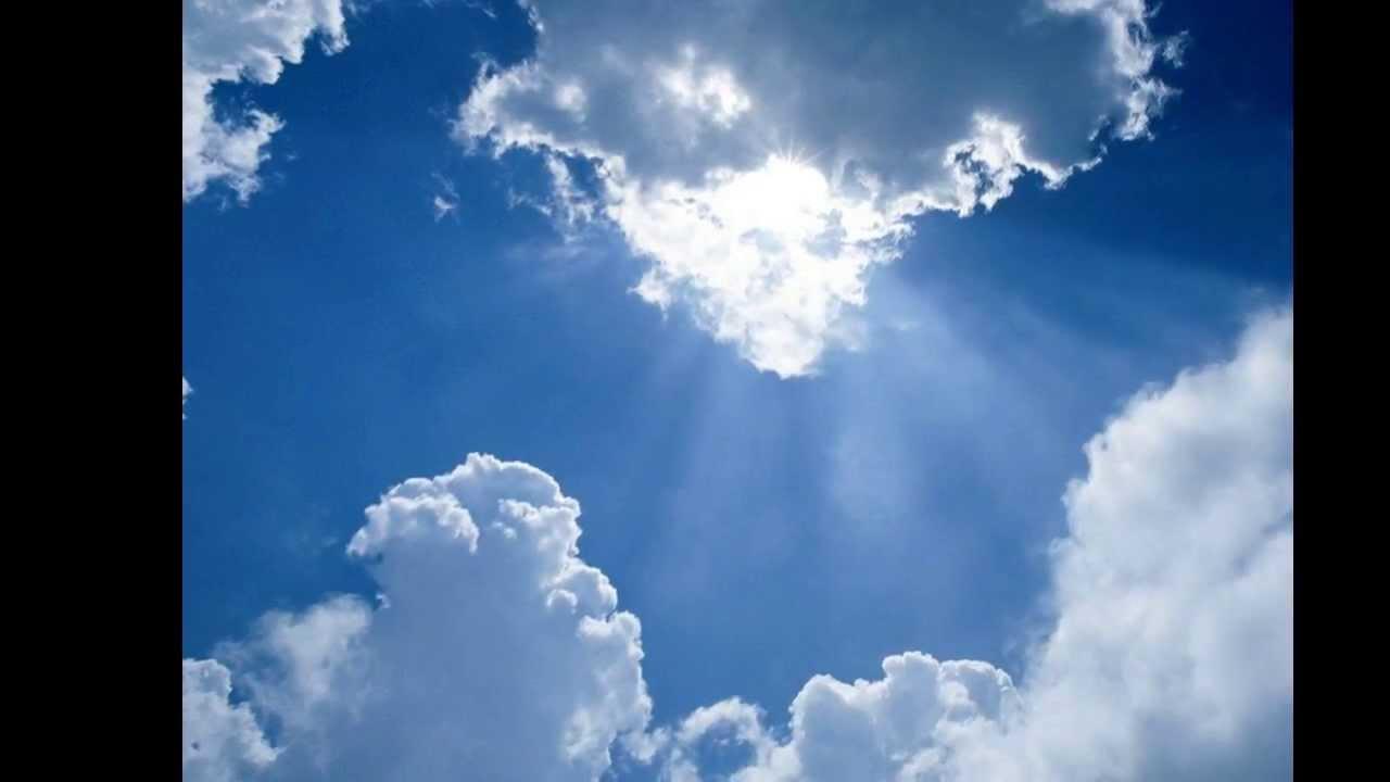 عکس آسمان وابر